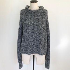 Chunky Victoria's Secret Grey Knit Sweater XL